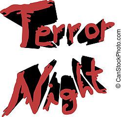 Creative design of terror effect