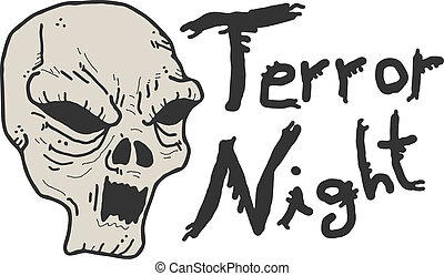 Terror night face