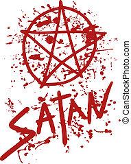 Terror satan - Creative design of terror satan