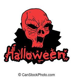 Terror stick halloween - Creative design of terror stick...