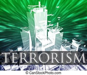 Terrorism attack - Terrorist terror attack Al Queda ...