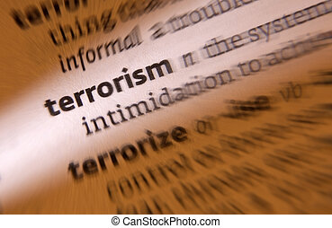 Terrorism - the use of violence and intimidation in the...