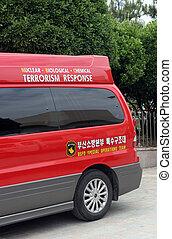 Terrorism response vehicle in South Korea