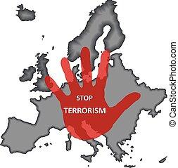 terrorismus, halt