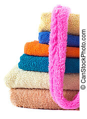 terry Towels on white