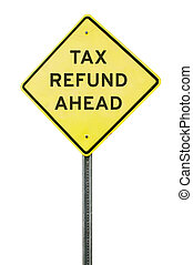 terugbetaling, belasting, vooruit