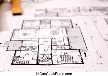 terv, építészet