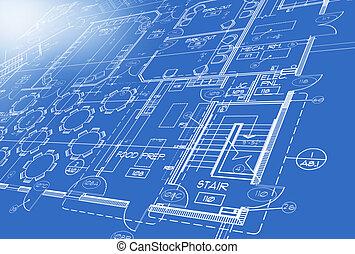 terv, kivált, által, számítógép