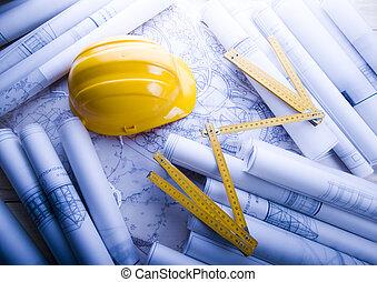 tervezés, építészet