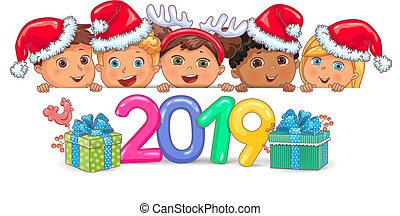 tervezés, 2019, noha, csinos, gyerekek