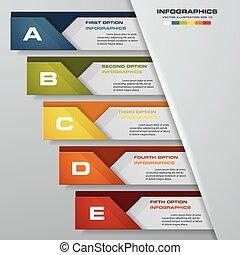 tervezés, kitakarít, szám, szalagcímek, template., vector.