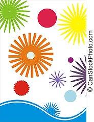tervezés, színes