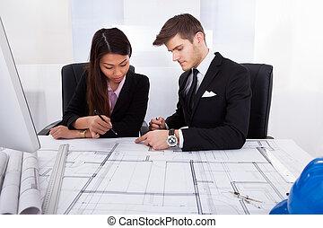 tervrajz, építész, munka