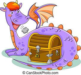tesoro, dragón
