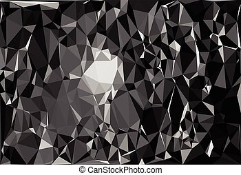 Tessellating random triangles pattern, background fitting...