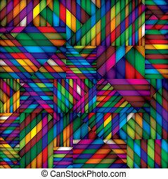 tessile, pattern., seamless, colorito