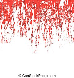 tessiture, grunge, sfondo rosso