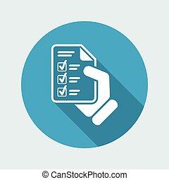 test, document
