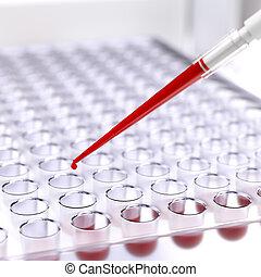 test, laboratorium, bloed