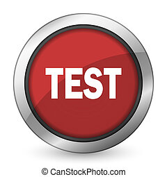 test red icon