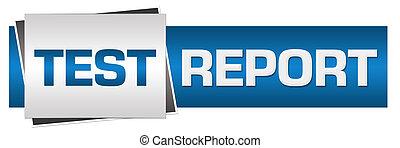 Test Report Blue Grey Horizontal