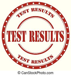 Test Results-stamp