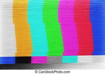 Tv Screen Glitch Texture