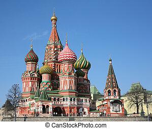 (test, szt., kánon, bazsalikom, székesegyház, 5d), moszkva
