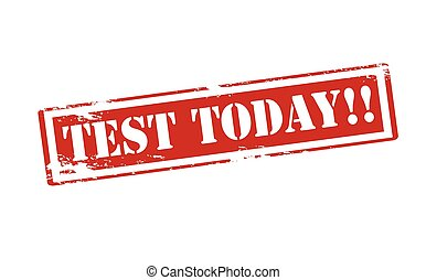 Image result for test today clipart