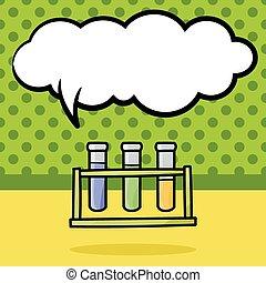 Test tube doodle
