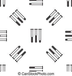 Test-tubes pattern