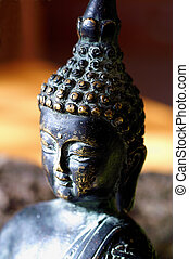 testa,  buddha-figure