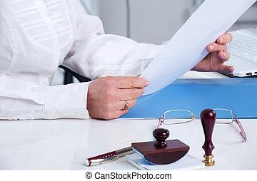 testament, ondertekening