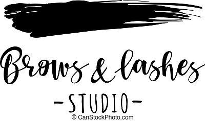 testas, estúdio, chicotadas