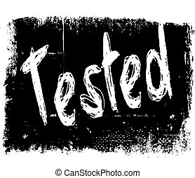 TESTED on black grunge background.