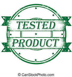 tested product stamp