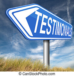 testimonials customer feedback testimonial or leave a ...