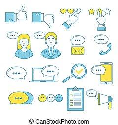 testimonials, feedback, utente