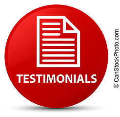 Testimonials (page icon) red round button