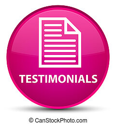 Testimonials (page icon) special pink round button
