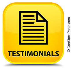 Testimonials (page icon) special yellow square button