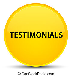 Testimonials special yellow round button