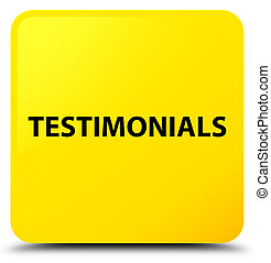 Testimonials yellow square button