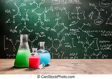 Testing new chemical reactions in school laboratory