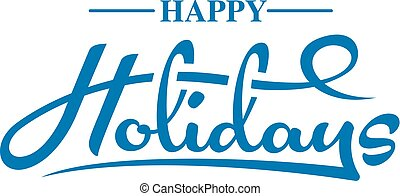 testo, felice, vacanze
