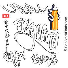 testo, graffito, hip-hop