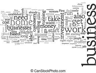 testo, idee, fondo, concetto, affari, wordcloud, casa