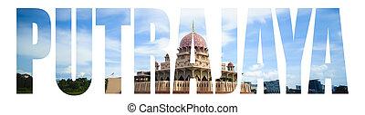 testo, moschea, putra, putrajaya