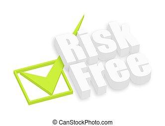 testo, rischio, libero, 3d