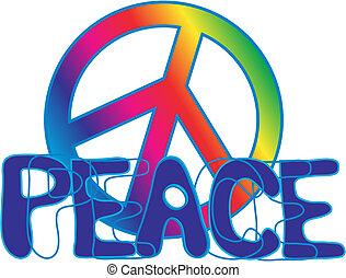 testo, segno pace